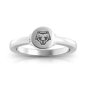 Brown University ring i sterling sølv design af BIXLER