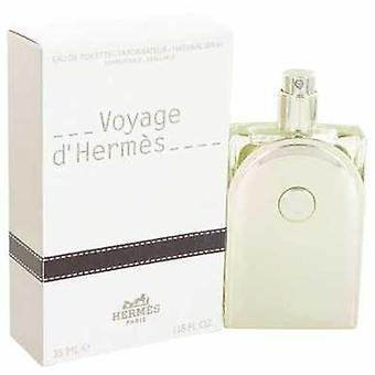 Voyage D' Hermes av Hermes Eau de Toilette Spray påfyllnings bara 1,18 oz (män) V728-466902