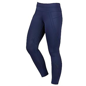 Dublin Performance Active Womens Riding Tights - Navy Blue