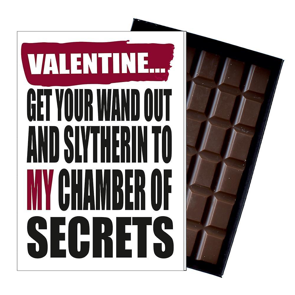 Rude Valentines Harry Potter Inspired Gift Men Boyfriend Chocolate Card Present IYF183