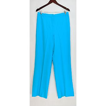 Linea de Louis Dell'Olio Women's Pantalones Tejidos de Corte Largo Aqua Azul A253576