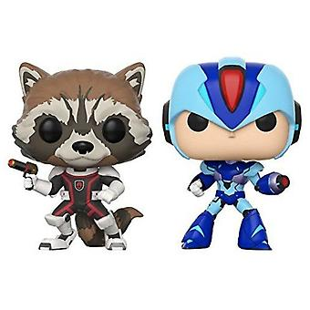 Marvel vs Capcom Infinite Rocket vs Mega Man X Pop! 2 Pk