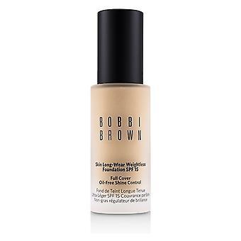 Bobbi Brown Skin långa slitage viktlös Foundation SPF 15-# Ivory-30ml/1oz