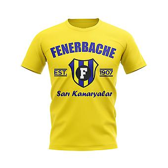 Fenerbache Established Football T-Shirt (Yellow)