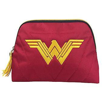 Wonder Woman Justice League Logo Wash Bag