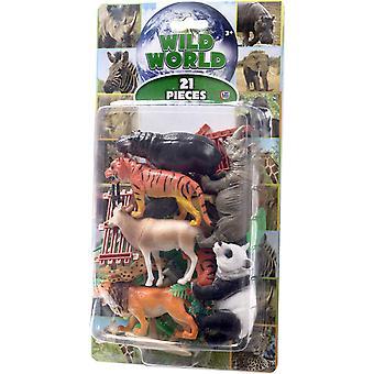 Natural World 21st Safari 5-12cm Exotic animal figurines Lekset