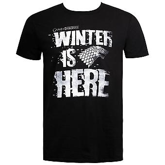 Winter är här Game of Thrones män ' s T-shirt