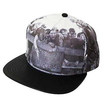 Walking Dead Printed Snapback Hat