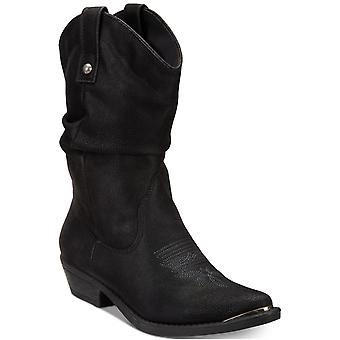 American rag femei Kallie subliniat Toe cizme de cowboy Mid-Calf
