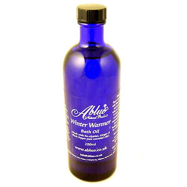 Winter Warmer Bath Oil from Abluo 200ml