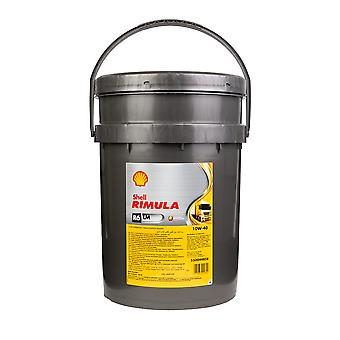 Shell 550014315 Rimula R6 Lm 10W 40 20Ltr lage emissies synthetische Diesel