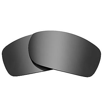SEEK Replacement Lenses Compatible for Oakley Fives Squared Silver Mirror