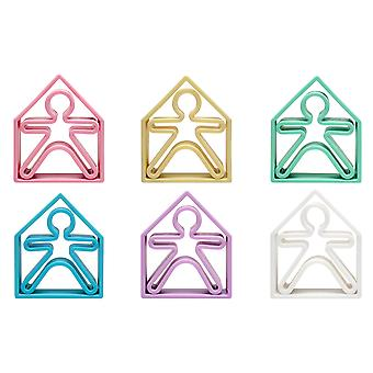 Dena Multi Piece Pastel Gekleurde Play Sets voor Zand Water Koken en Creative Free-Play ...