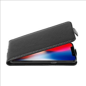 Custodia Cadorabo per Apple iPhone X / XS Case Cover - Custodia del telefono in Flip Design in pelle finta strutturata - Custodia custodia custodia Custodia Case Case