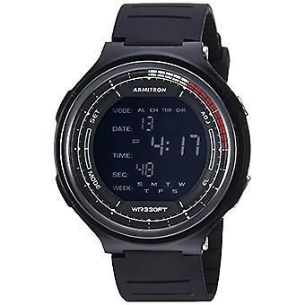 Armitron ساعة رجل المرجع. 40/8418BLK