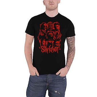 Slipknot T Shirt We Are Not Your Kind Red Patch Band Logo Officiel Homme Noir