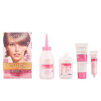 L'Oréal maquillage Excellence Creme Tinte #7,1 Rubio Ceniza unisexe