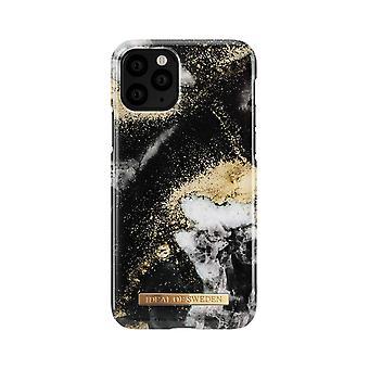 iDeal de Suecia iPhone 11 Pro Shell-Black Galaxy Mármol