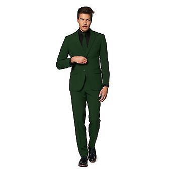 Glorious Green Forest Green Suit Mister Green Opposuit Slimline Premium 3-piece EU SIZES