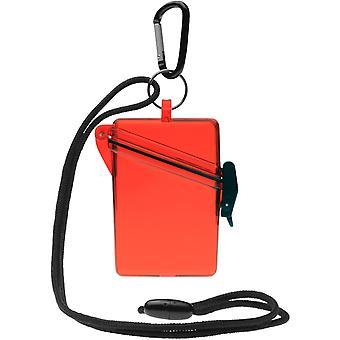 Witz zien veilige lichtgewicht waterdichte Sport Case - rood