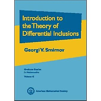 Introduction to the Theory of Differential Inclusions - 9780821829776