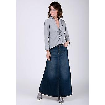 Ramona denim skirt - vintage wash