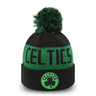 New Era Nba Boston Celtics 19/20 Kids Team Tonal Knit