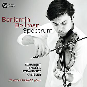 Benjamin Beilman - spektrum [CD] USA import