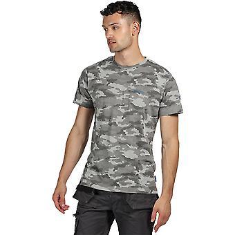 Tactical Threads Mens Dense Camouflage Smart Jersey T Shirt