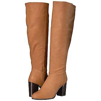 Circus by Sam Edelman Womens Silbey Fabric Almond Toe Knee High Fashion Boots