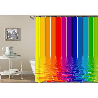 Melting Rainbow Colors Doccia Tenda