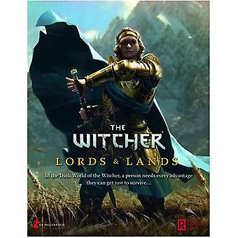 Lords and Lands GM Screen The Witcher RPG
