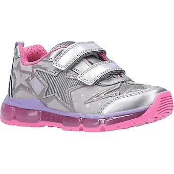 Geox Kids J Android Girl B Touch Fastening Trainer