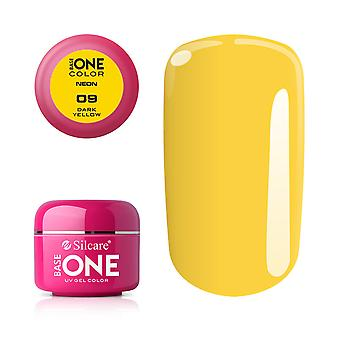 Base one-Neon-Dark yellow 5g UV Gel