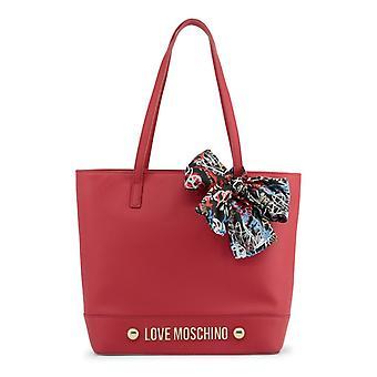 Liefde Moschino vrouwen ' s schoudertas, rood-16lv