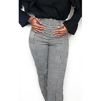IKRUSH Womens Sanah Paperbag maßgeschneiderte Hose