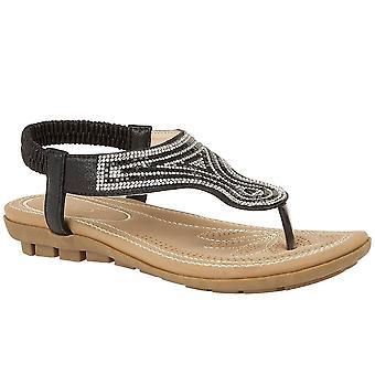 Lotus Delia kvinner toe innlegg sandaler