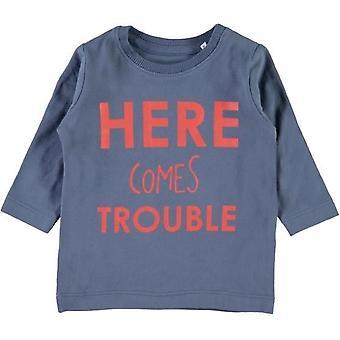 Nommez-le Blue Boys T-Shirt Gikko