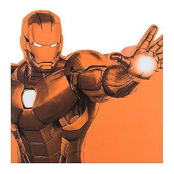 Hallmark Iron Man Drawing 16 X 16cm Blank Card 25480826