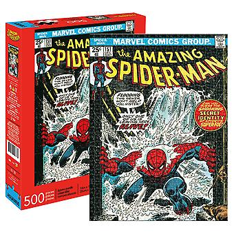 Marvel - spider-man cover 500pc puzzel