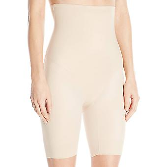 Naomi and Nicole Women's Back Magic Firm Control Hi Waist Thigh, Nude, Size 2.0