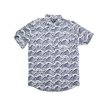 Hurley Waves camisa de manga corta en blanco