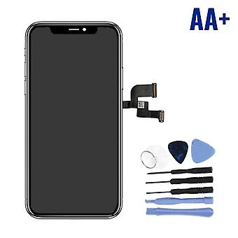 Stuff Certified® iPhone X Screen (Touchscreen + OLED + Parts) AA + Quality - Black + Tools