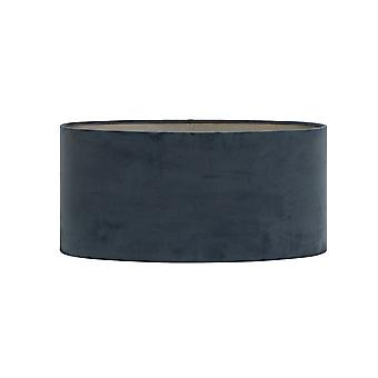Light & Living Shade Oval Straight 45x45x22cm Velours Dusty Blue