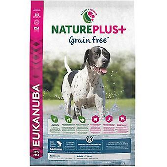Eukanuba Взрослый Большой Взрослый Корм для собак Natureplus + Лосось (Собаки, Корм для собак, Сухой корм)