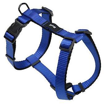 Yagu Basic sele färgen blå (hundar, kragar, Leads och selar, seldon)