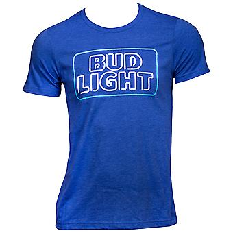 Bud Light Neon Sign Logo T-Shirt