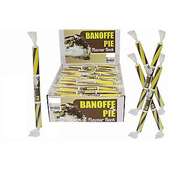20 Small Flavoured Rock Sticks - Banoffee Flavour