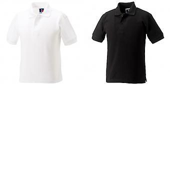 Jerzees Schoolgear Childrens Hardwearing Polo Shirt (Pack of 2)