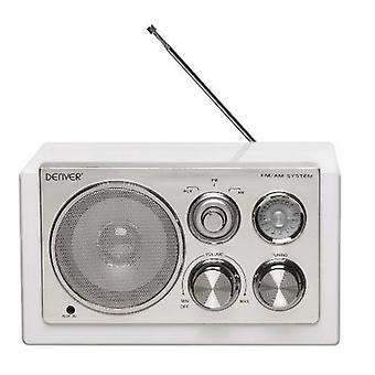 Transistor Radio Denver Electronics TR-61 Weiß